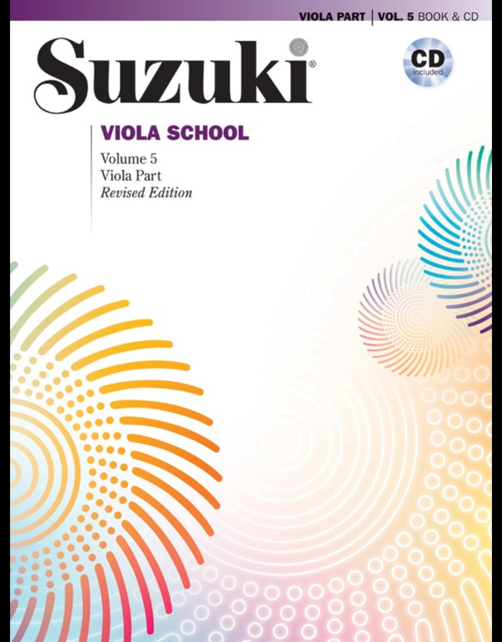 Alfred Suzuki Viola School 5 book & CD (revised)