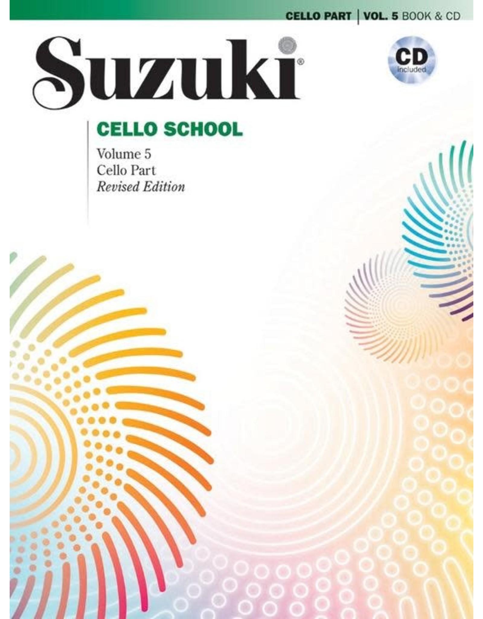 Alfred Suzuki Cello School 5 book & CD (revised)