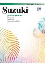 Alfred Suzuki Cello School Volume 8 with CD - Revised