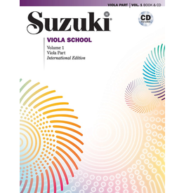 Alfred Suzuki Viola School Revised Volume 1 Book and CD