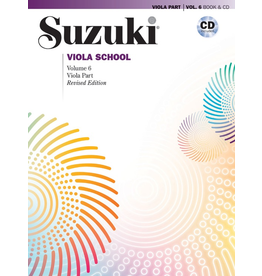 Alfred Suzuki Viola School 6 book & cd (revised)