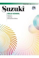 Alfred Suzuki Cello School Volume 2 With CD