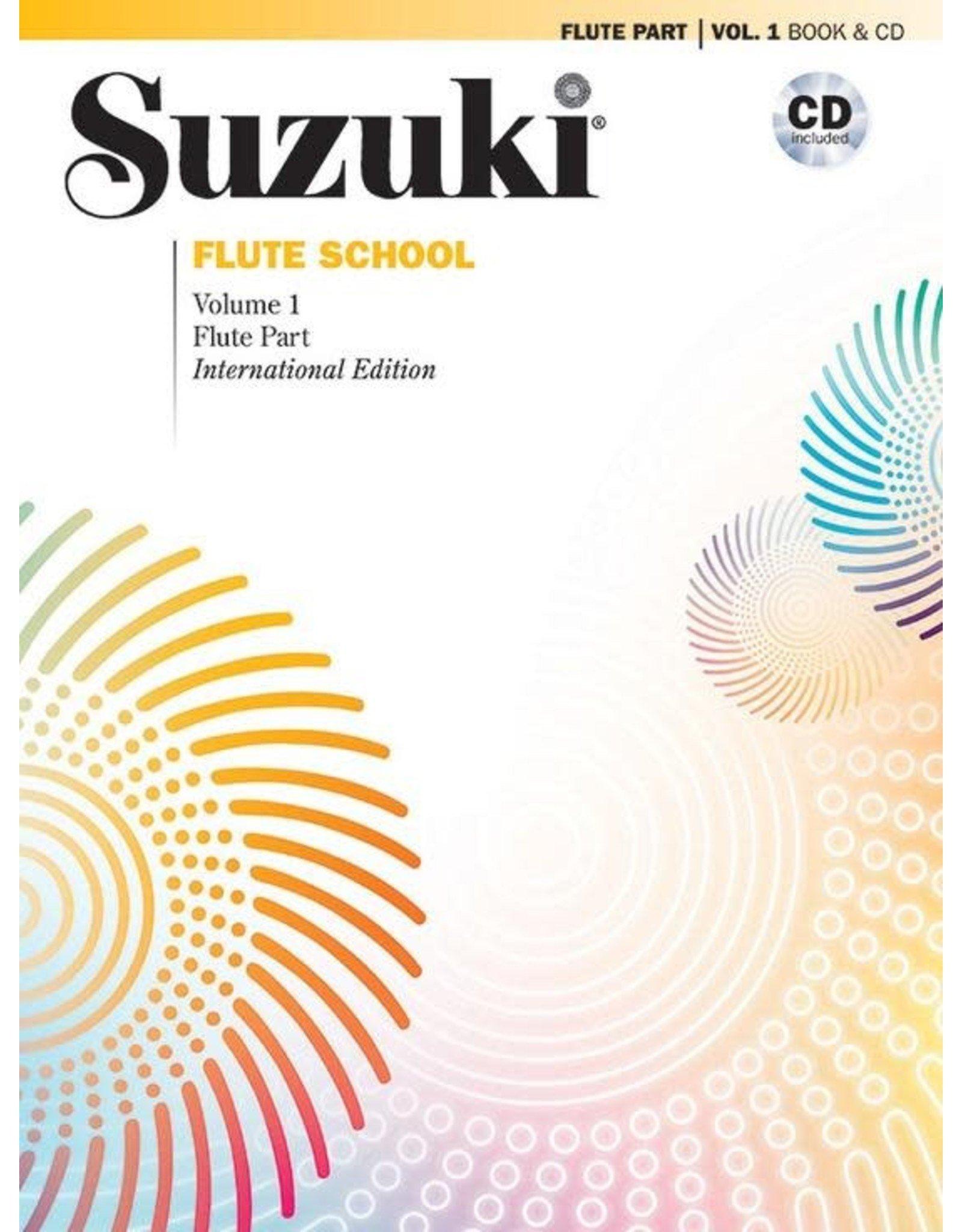 Alfred Suzuki Flute School (Flute Part) Book 1 with CD