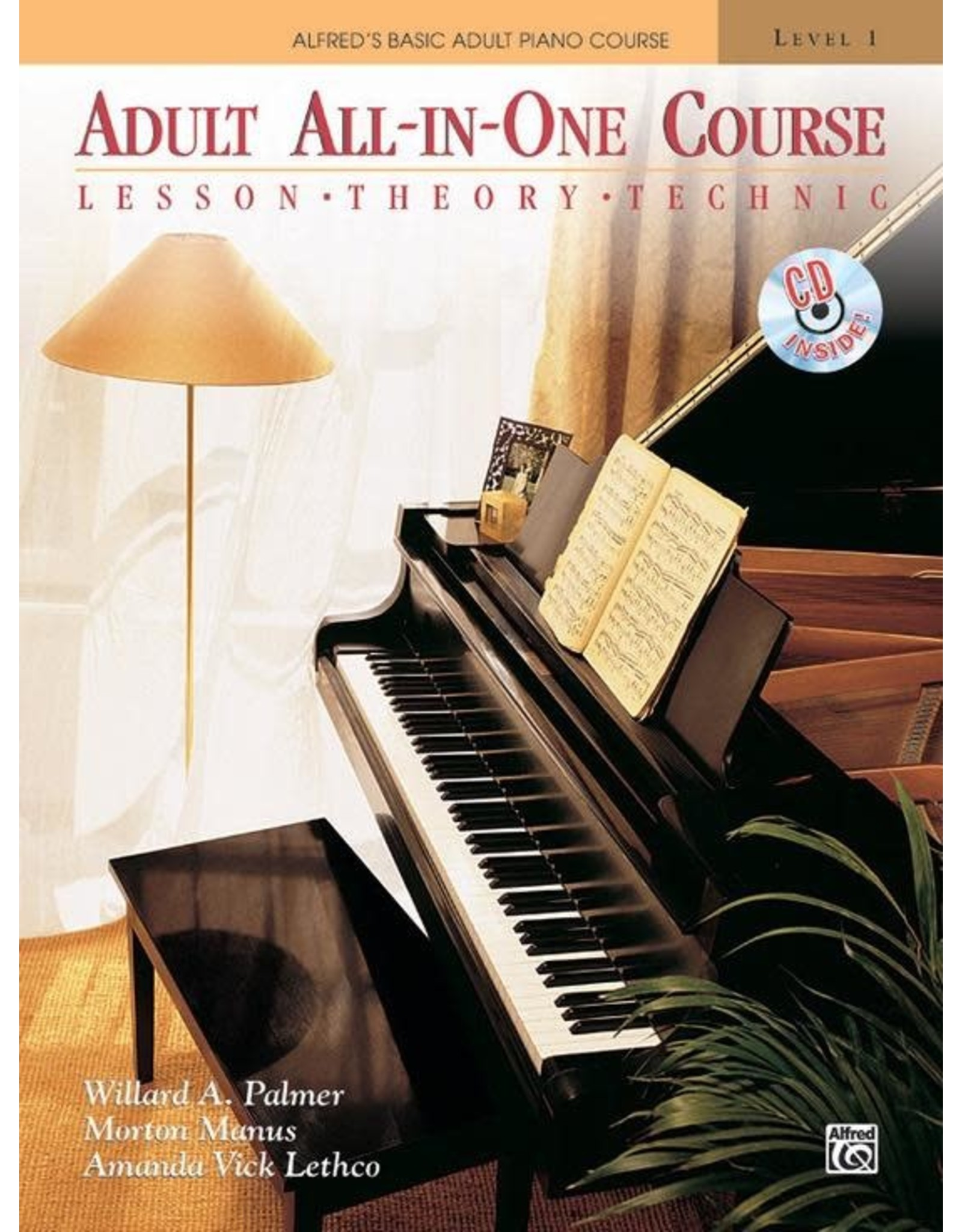 Alfred Alfred's Adult All-in-One Course, Book 1 Book/CD