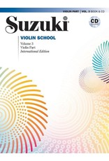 Alfred Suzuki Violin School, Volume 3 International Edition with CD performed by Hilary Hahn