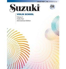 Alfred Suzuki Violin School, Volume 3 International Edition with CD performed by Hilary Hahn