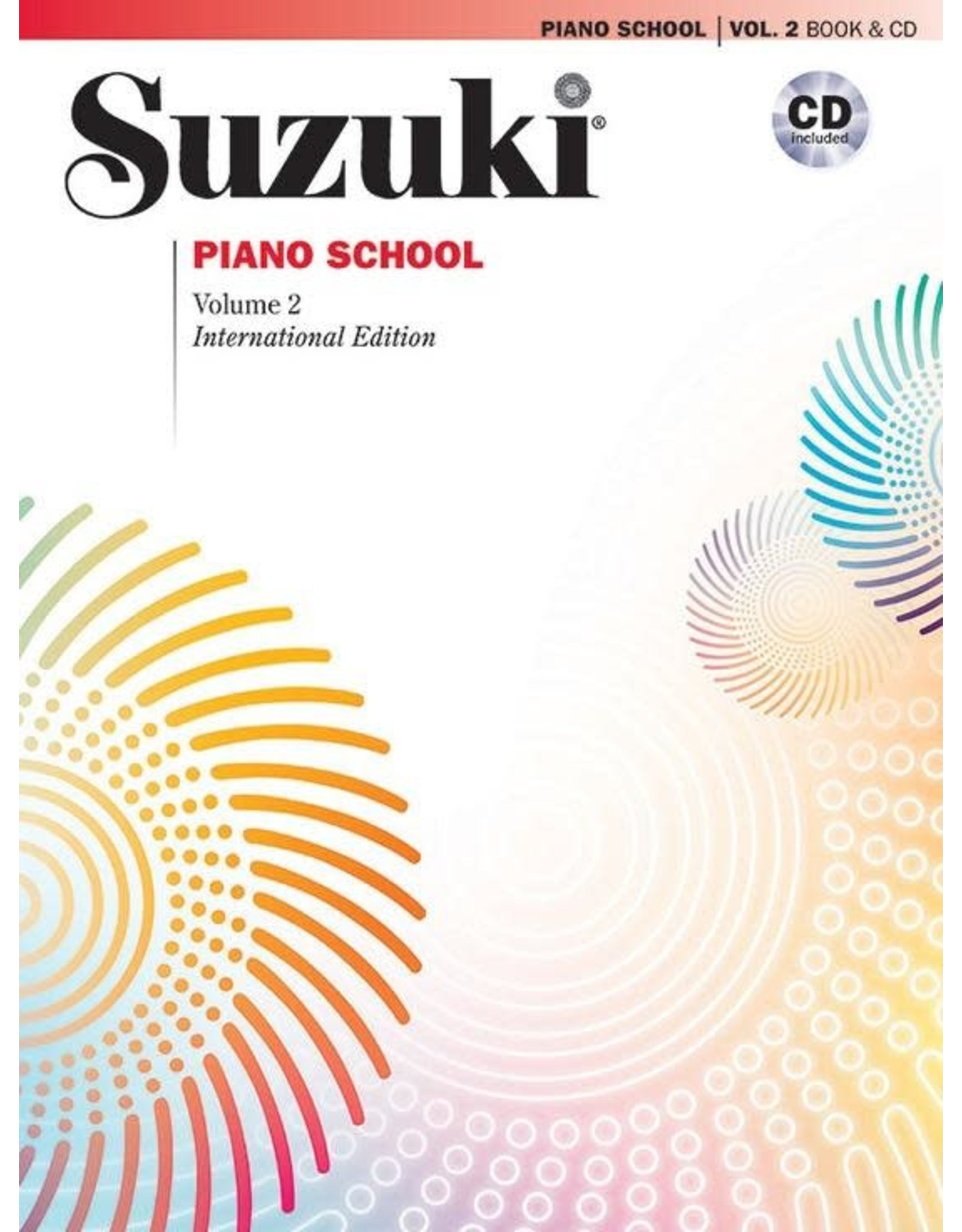 Alfred Suzuki Piano School - Volume 2, New International Edition with CD