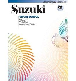 Alfred Suzuki Violin School, Volume 2 International Edition with CD performed by Hilary Hahn