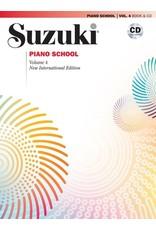 Alfred Suzuki Piano School, Volume 4 New International Edition Book & CD