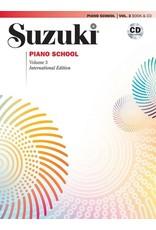 Alfred Suzuki Piano School  Volume 3, New International Edition with CD