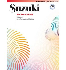 Alfred Suzuki Piano School Volume 5 New International Edition with CD