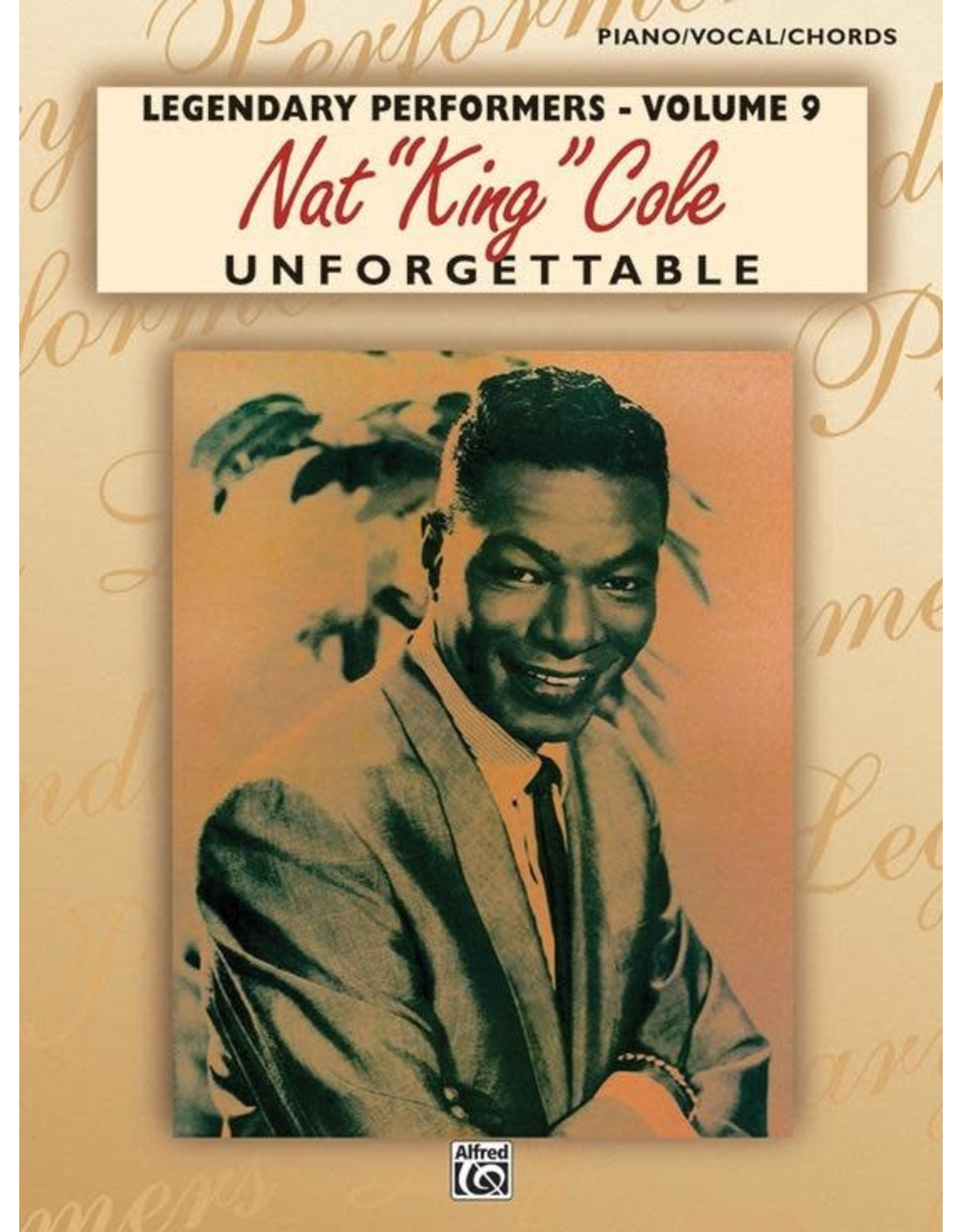 Alfred Unforgettable - Music of Nat King Cole PVC
