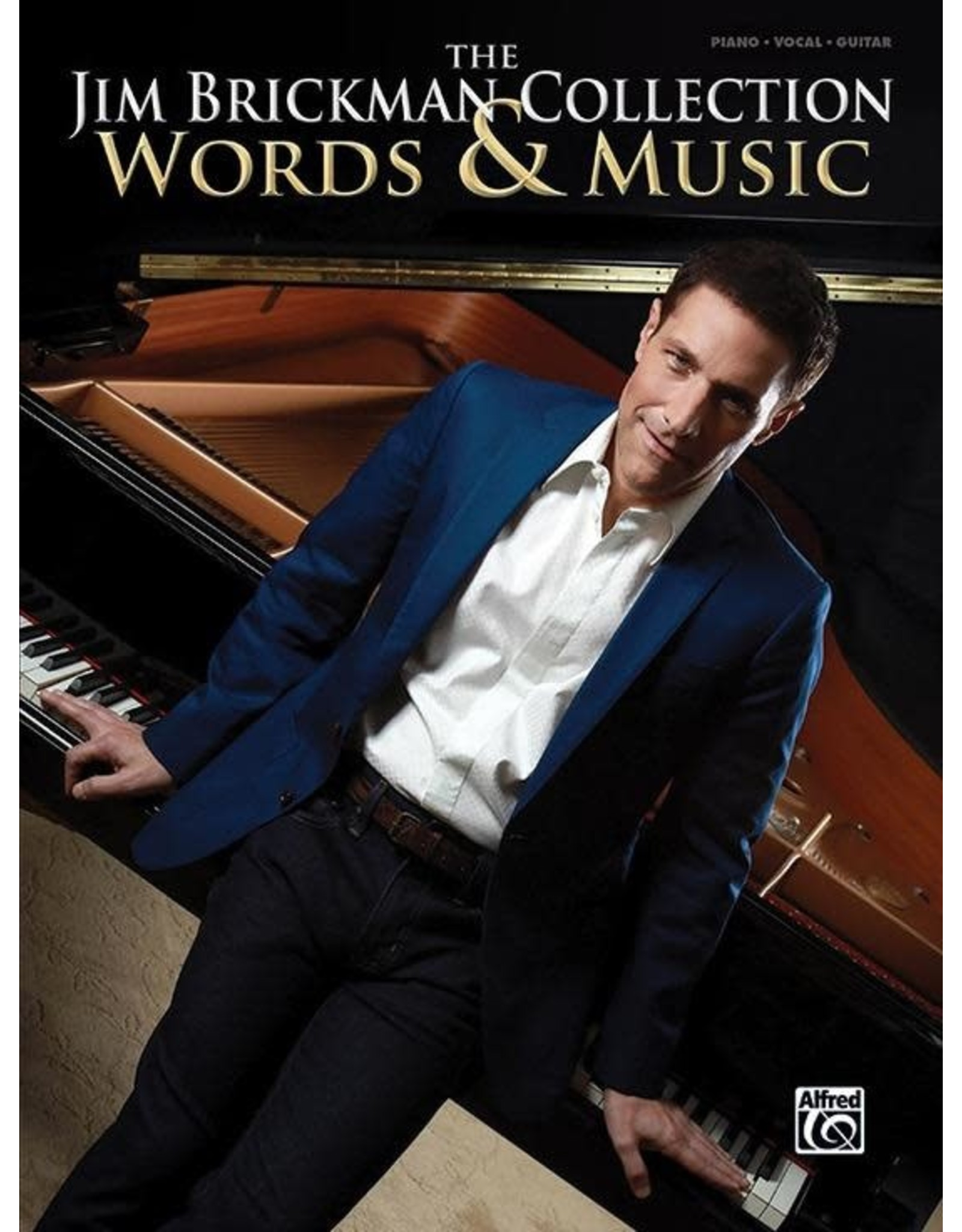 Alfred Jim Brickman Collection, Words & Music PVG