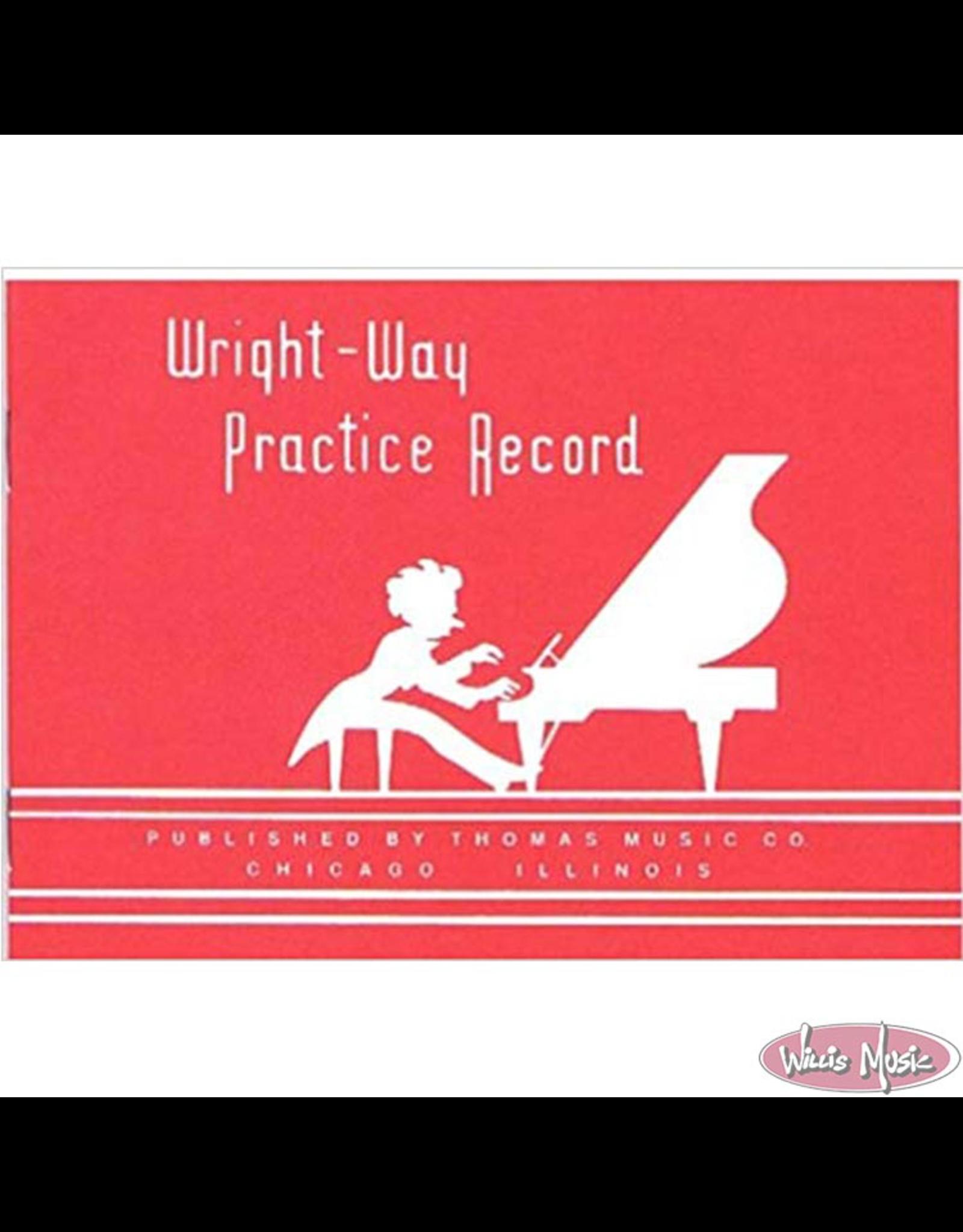 Chesbro Music Wright-Way Practice Record