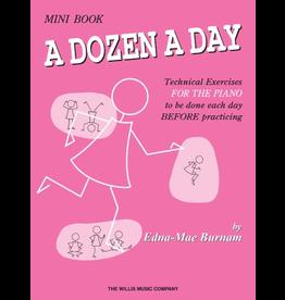 Hal Leonard Dozen a Day Technical Exercises, Mini Book