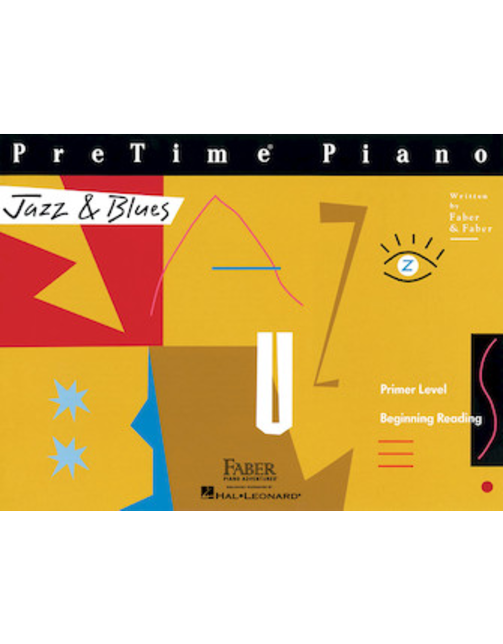 Hal Leonard PreTime Piano Jazz & Blues Primer Level