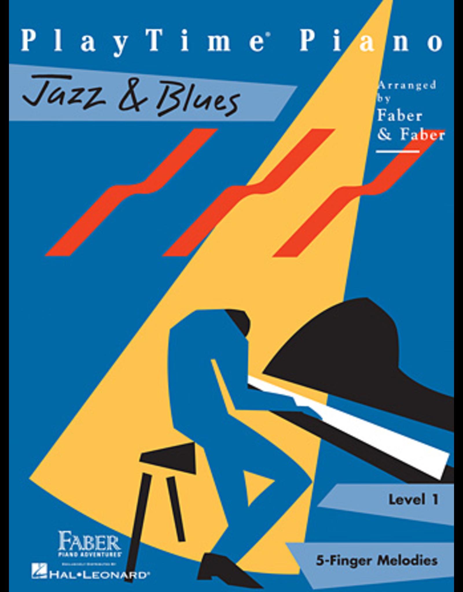 Hal Leonard PlayTime Piano Jazz & Blues Level 1