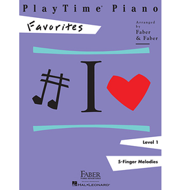 Hal Leonard PlayTime Piano Favorites Level 1
