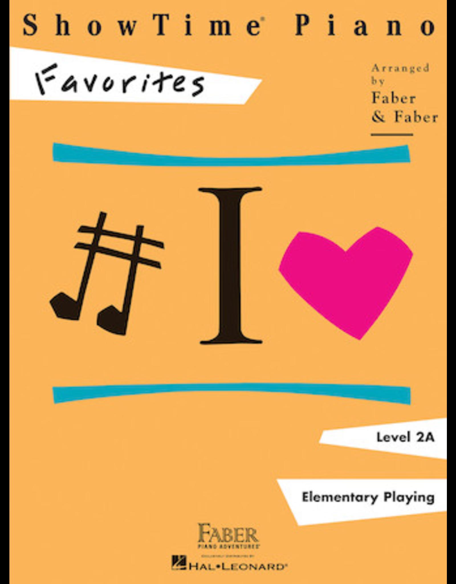 Hal Leonard ShowTime Piano Favorites Level 2A