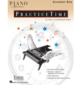 Hal Leonard Piano Adventures PracticeTime Assignment Book