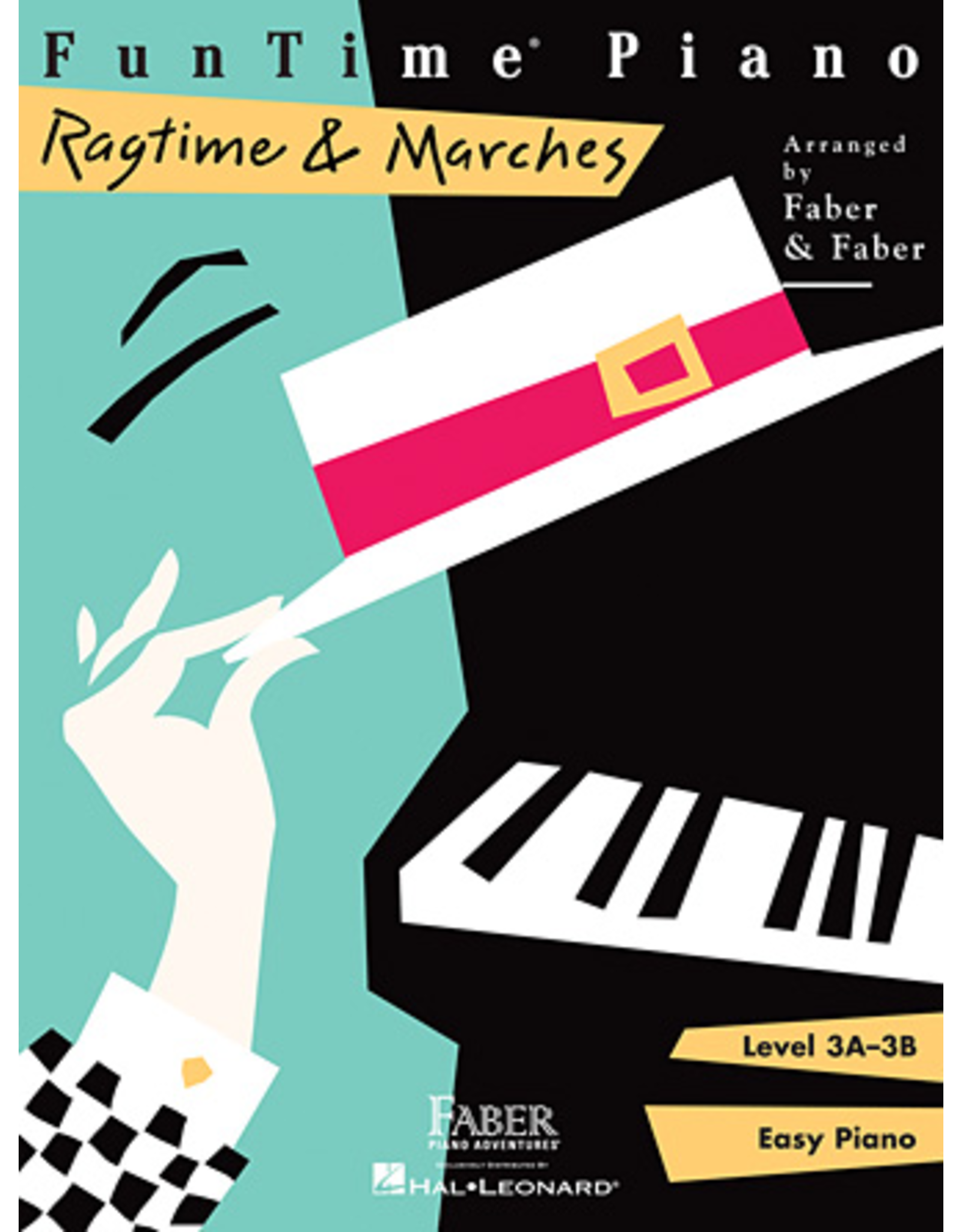 Hal Leonard FunTime Piano Ragtime & Marches Level 3A-3B