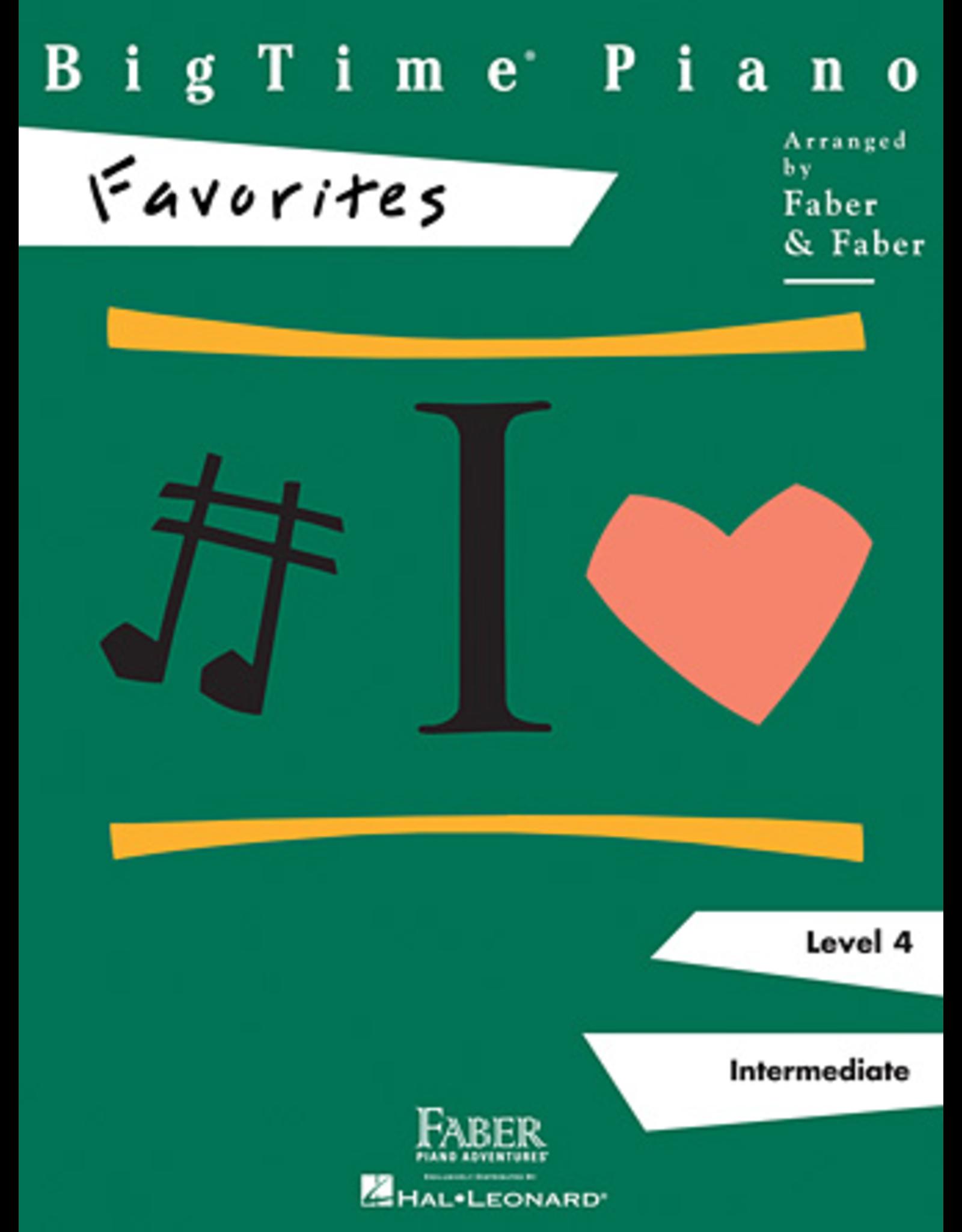 Hal Leonard BigTime Piano Favorites Level 4