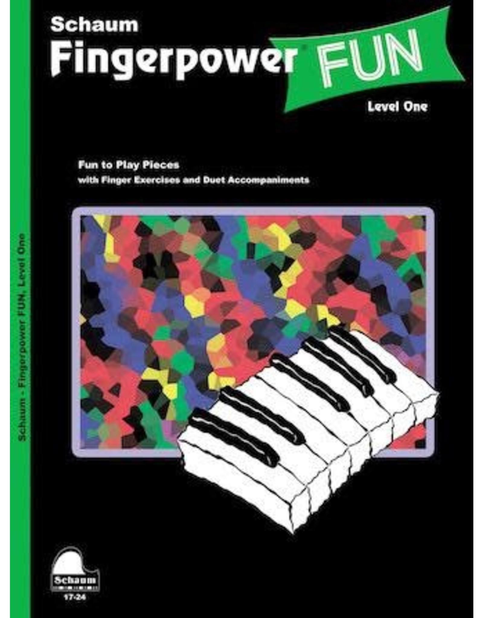 Hal Leonard Schaum Fingerpower Fun Level 1