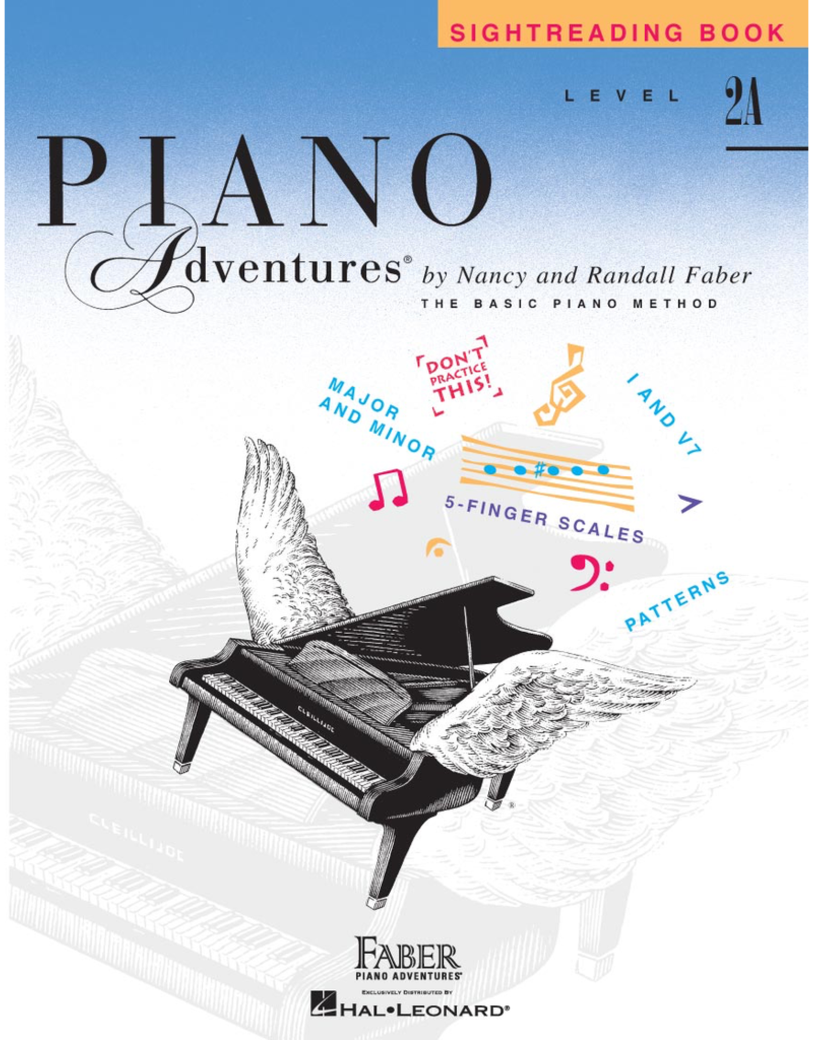 Hal Leonard Piano Adventures Sightreading Level 2A *