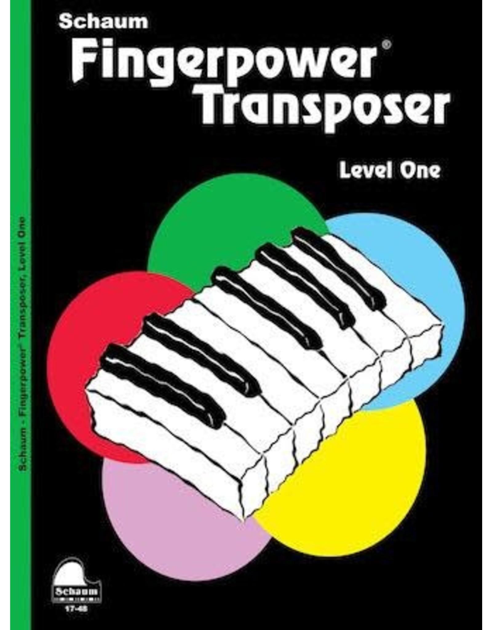 Hal Leonard Schaum Fingerpower Transposer Level 1