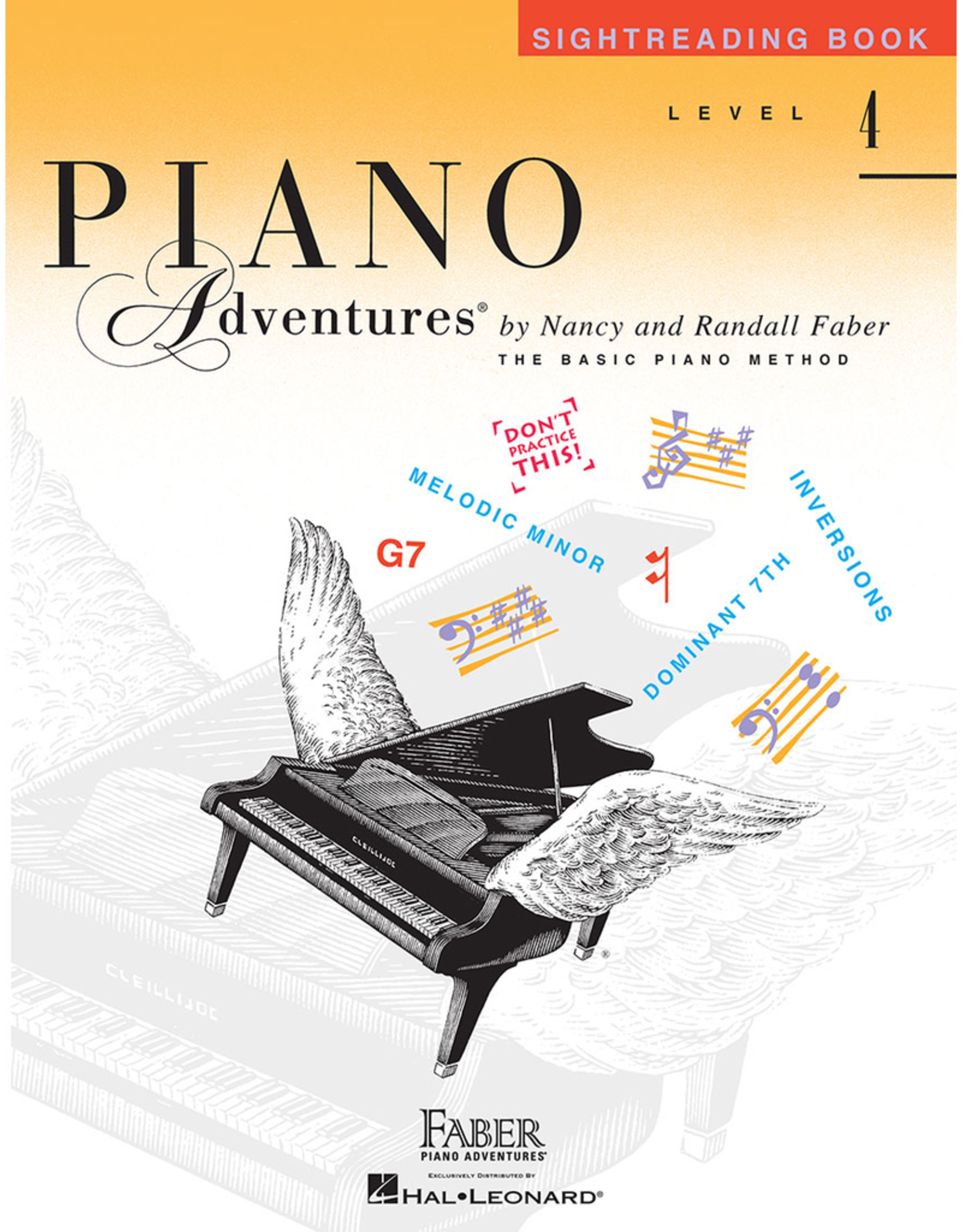 Hal Leonard Piano Adventures Sightreading Level 4 *