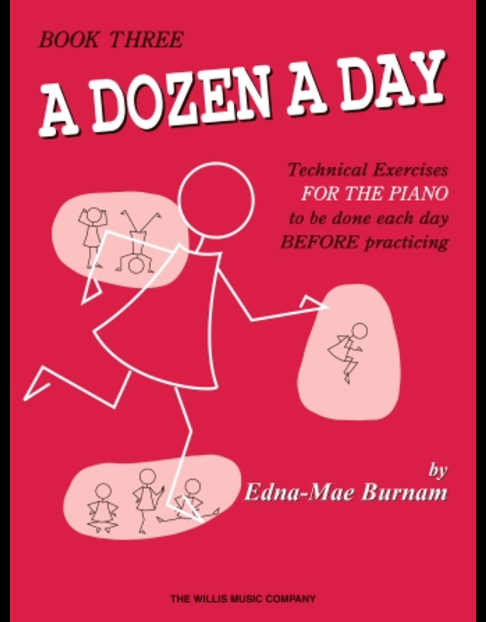 Hal Leonard Dozen a Day Technical Exercises, Book 3