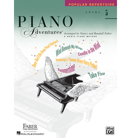 Hal Leonard Piano Adventures Popular Repertoire Level 5 *
