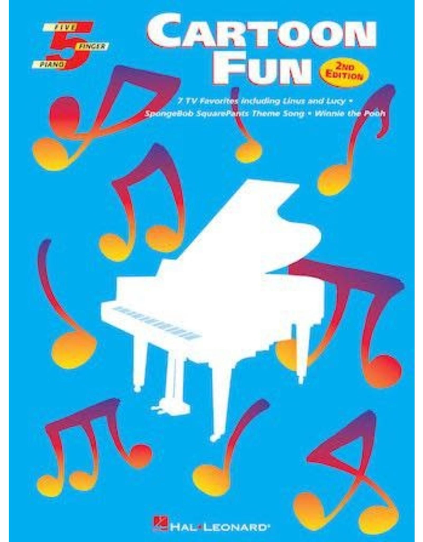 Hal Leonard Cartoon Fun 5 Finger