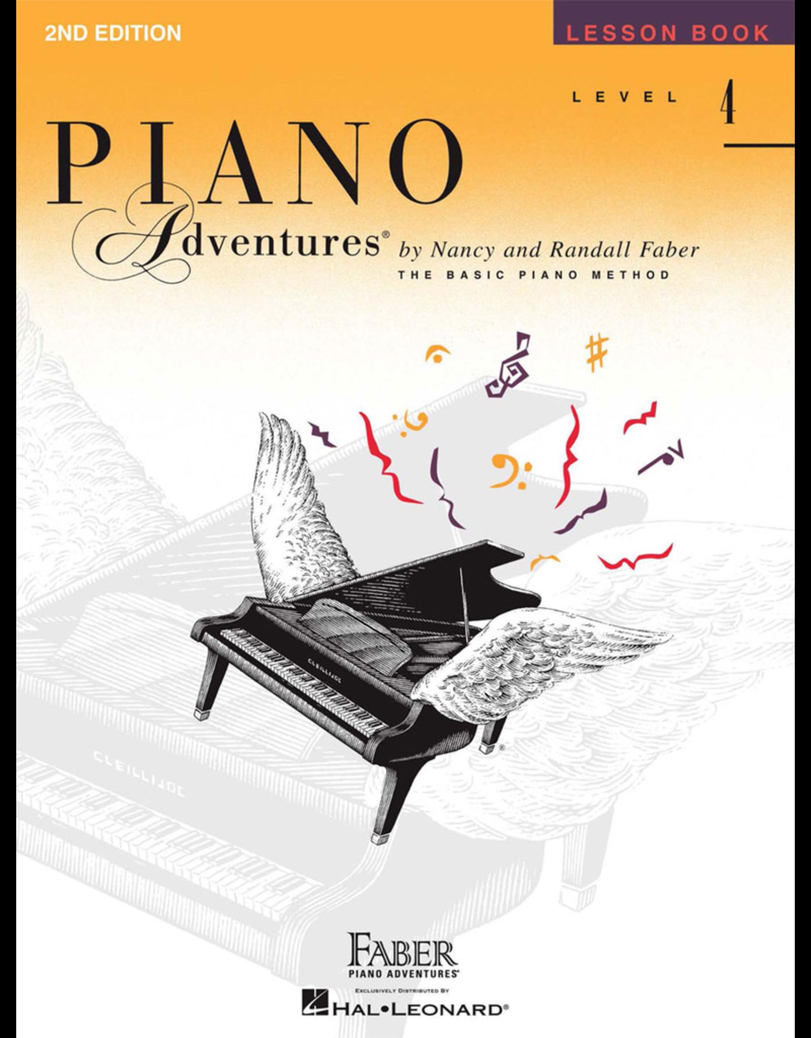Hal Leonard Piano Adventures Lesson Level 4 *
