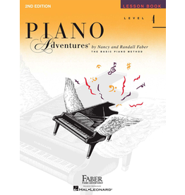 Hal Leonard Piano Adventures Lesson Level 4 *
