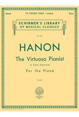 Hal Leonard Hanon - Virtuoso Pianist in 60 Exercises Complete - Schirmer Edition