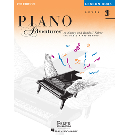 Hal Leonard Piano Adventures Lesson Level 2B (2nd Edition) *