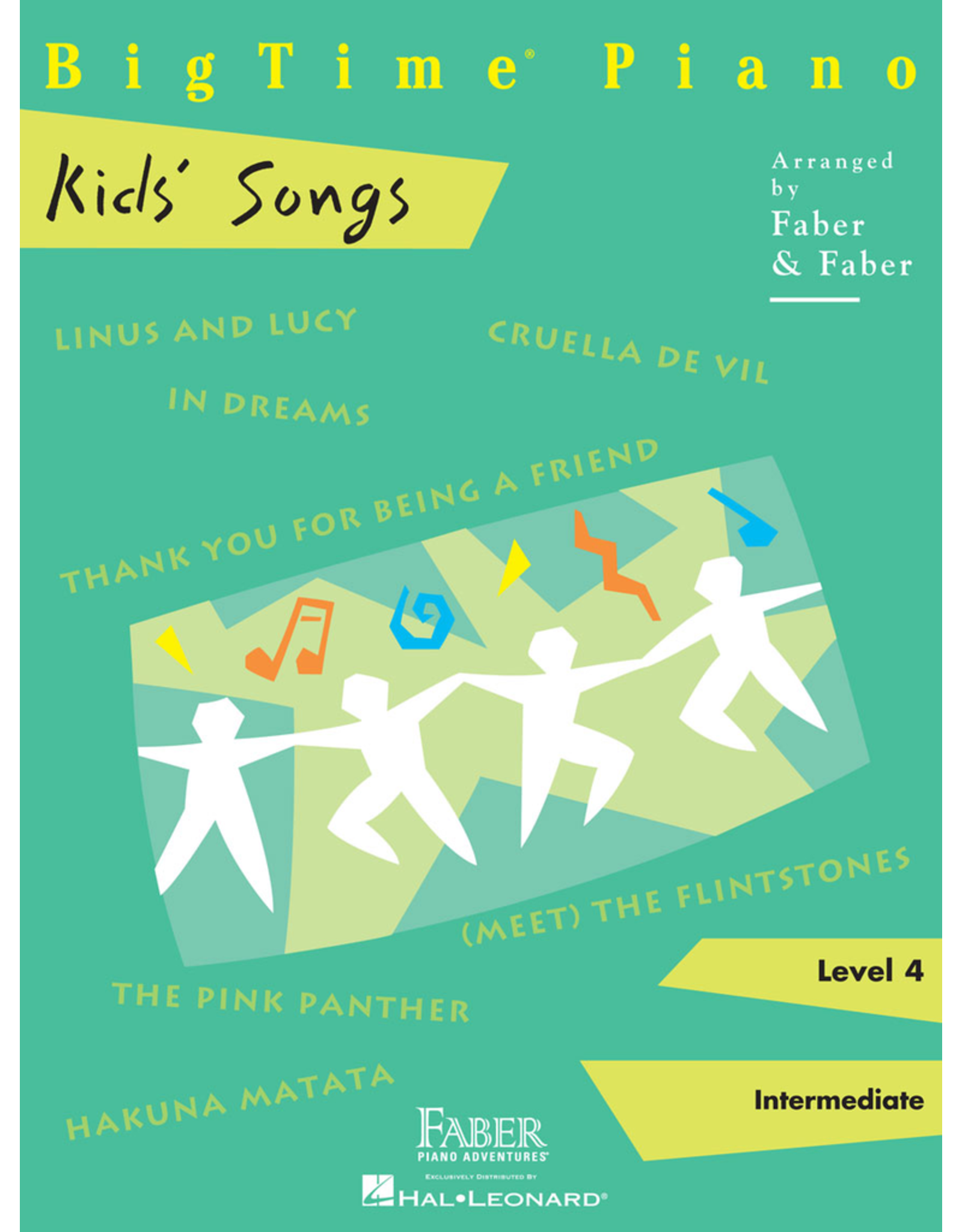 Hal Leonard BigTime Piano Kid's Songs - Level 4
