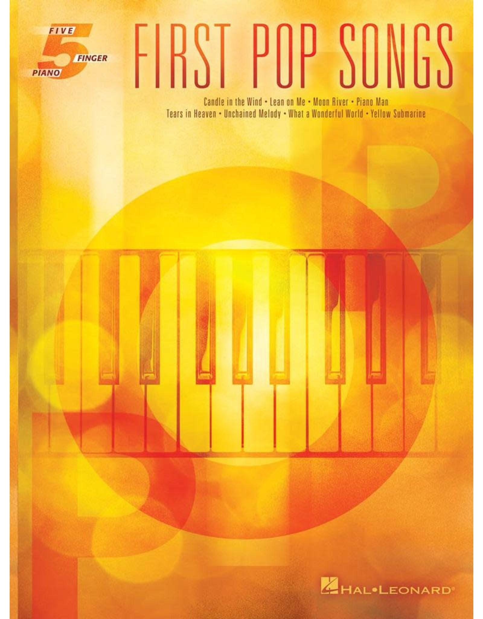 Hal Leonard First Pop Songs 5 Finger
