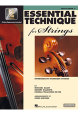 Hal Leonard Essential Technique Book 3 Cello