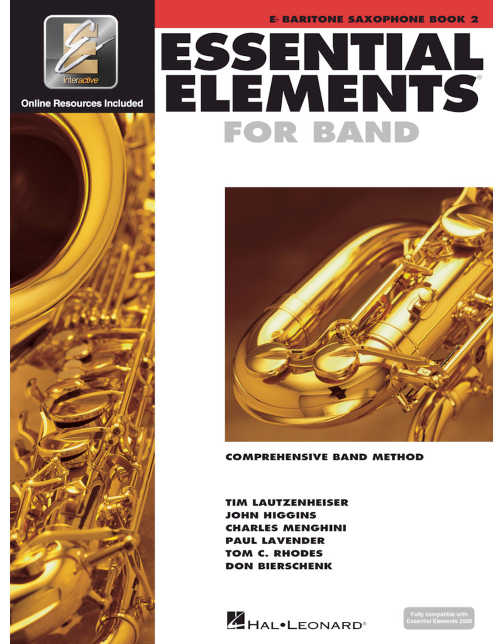 Hal Leonard Essential Elements Book 2 Baritone Sax