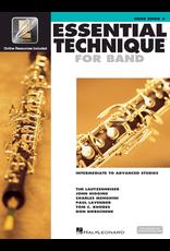 Hal Leonard Essential Technique Book 3 Oboe