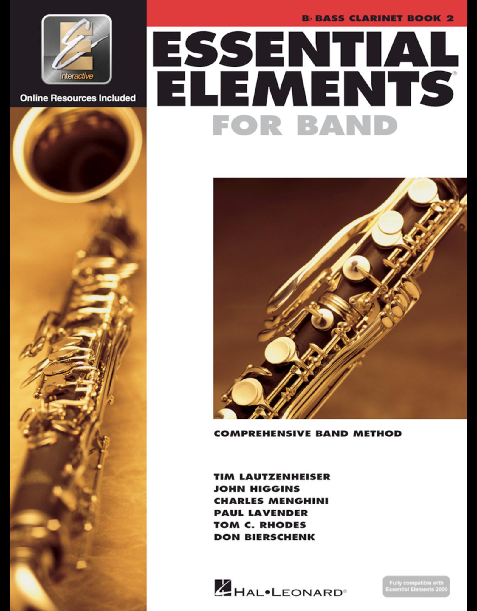 Hal Leonard Essential Elements Book 2 Bass Clarinet