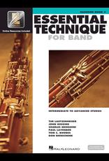 Hal Leonard Essential Technique Book 3 Bassoon