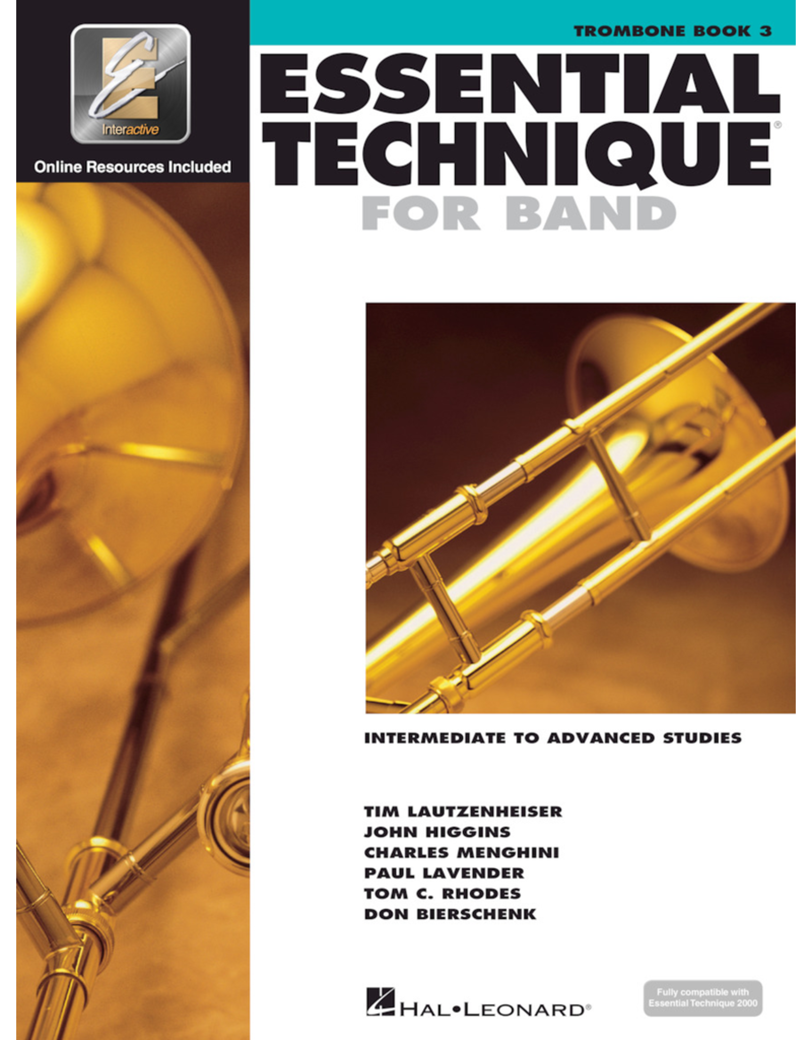 Hal Leonard Essential Technique Book 3 Trombone