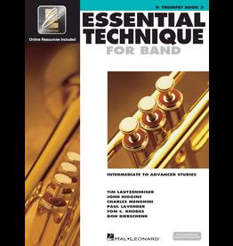 Hal Leonard Essential Technique Book 3 Trumpet