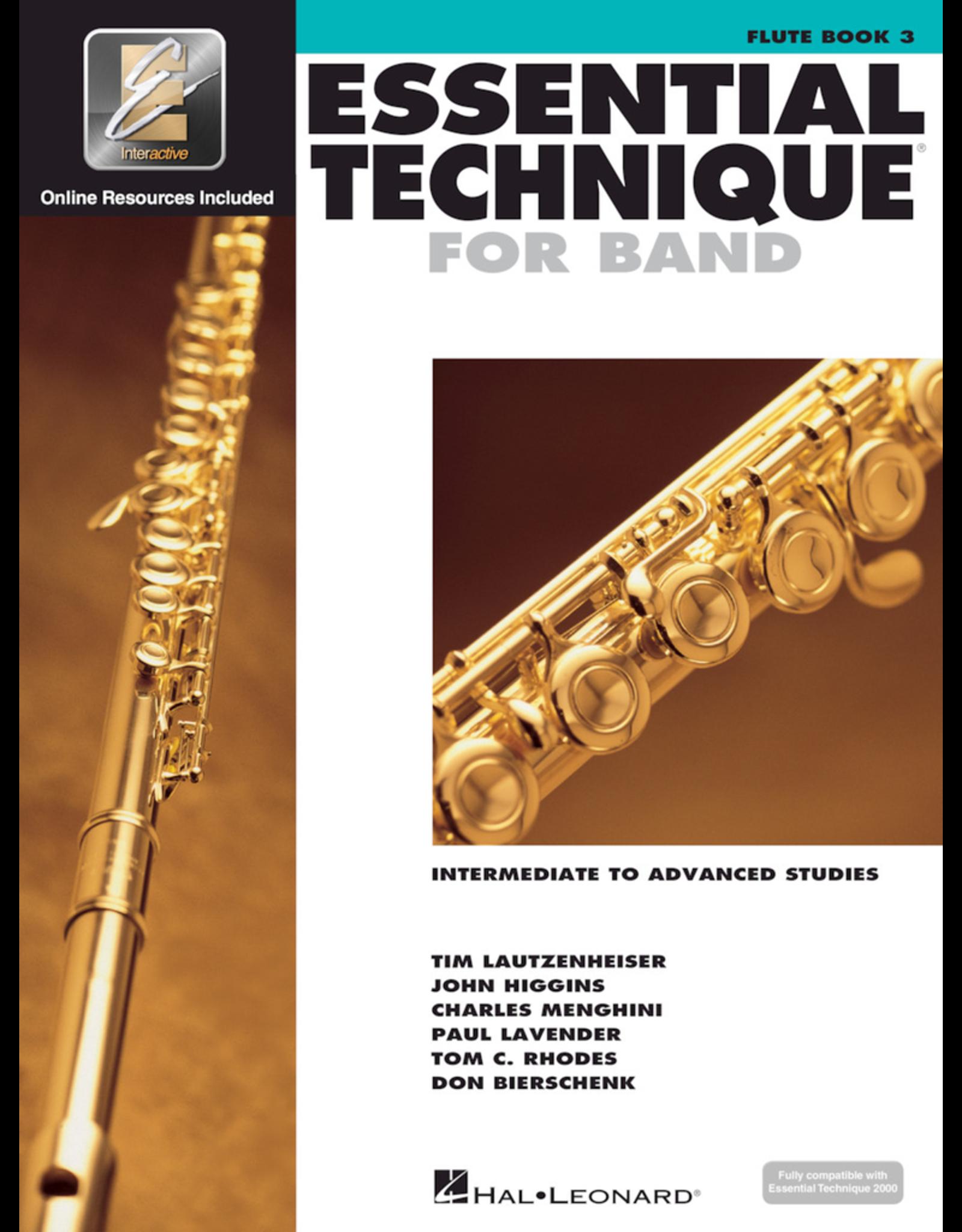 Hal Leonard Essential Technique Book 3 Flute