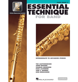 Hal Leonard Essential Technique Book 3 Flute