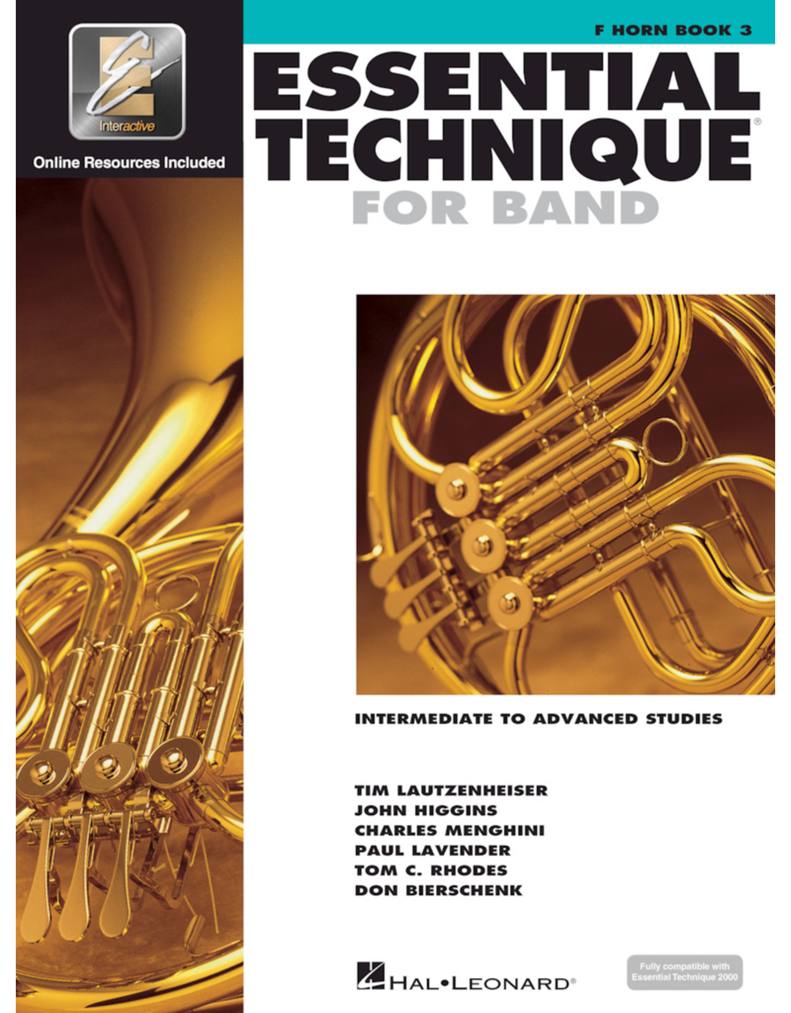 Hal Leonard Essential Technique Book 3 French Horn
