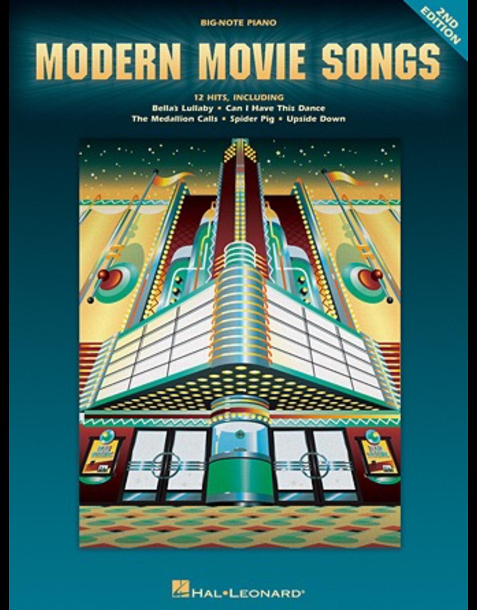 Hal Leonard Modern Movie Songs Big Note
